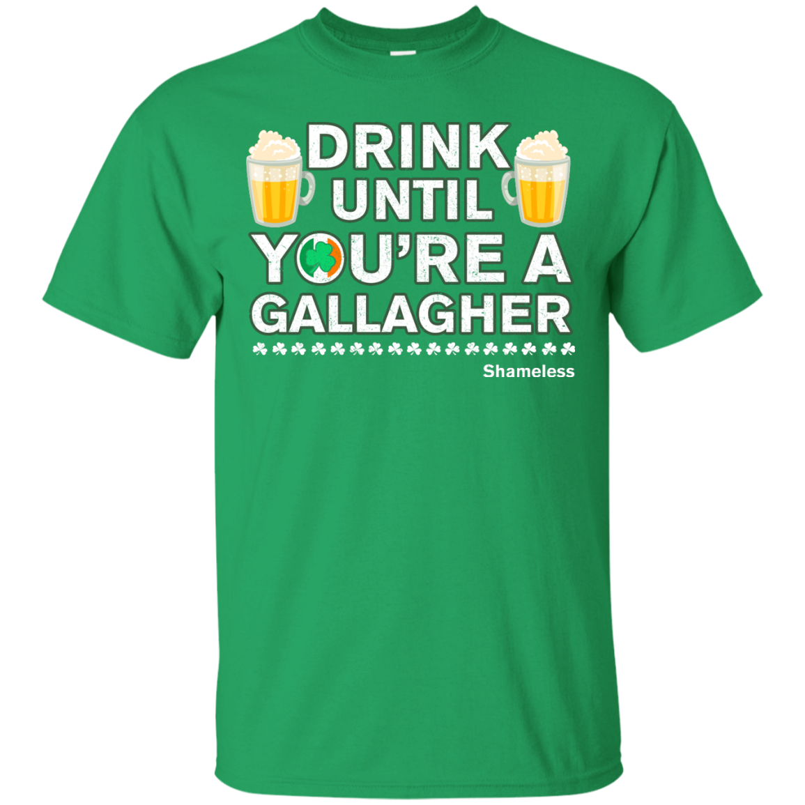 image 1px St Patrick's Day: Drink Until You Are A Gallagher T Shirt
