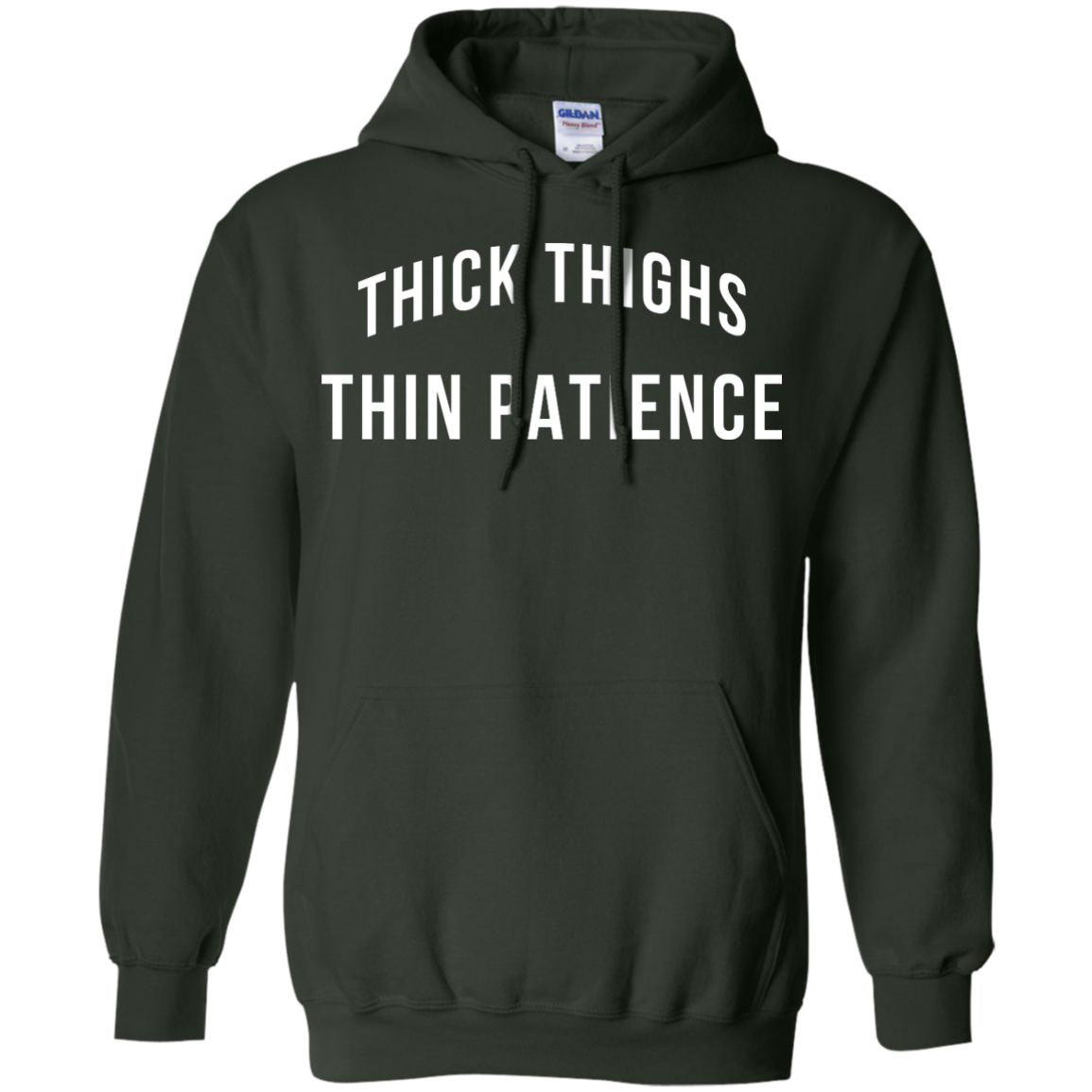 image 102px Thick Thighs Thin Patience T Shirt, Hoodies & Tank Top