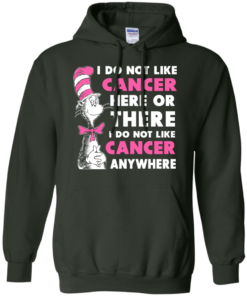 image 1033 247x296px I Do Not Like Cancer Here Or There Or Anywhere T Shirt