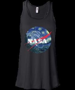 image 1045 247x296px Nasa Logo Starry Night by Van Gogh T Shirt, Hoodies, Tank