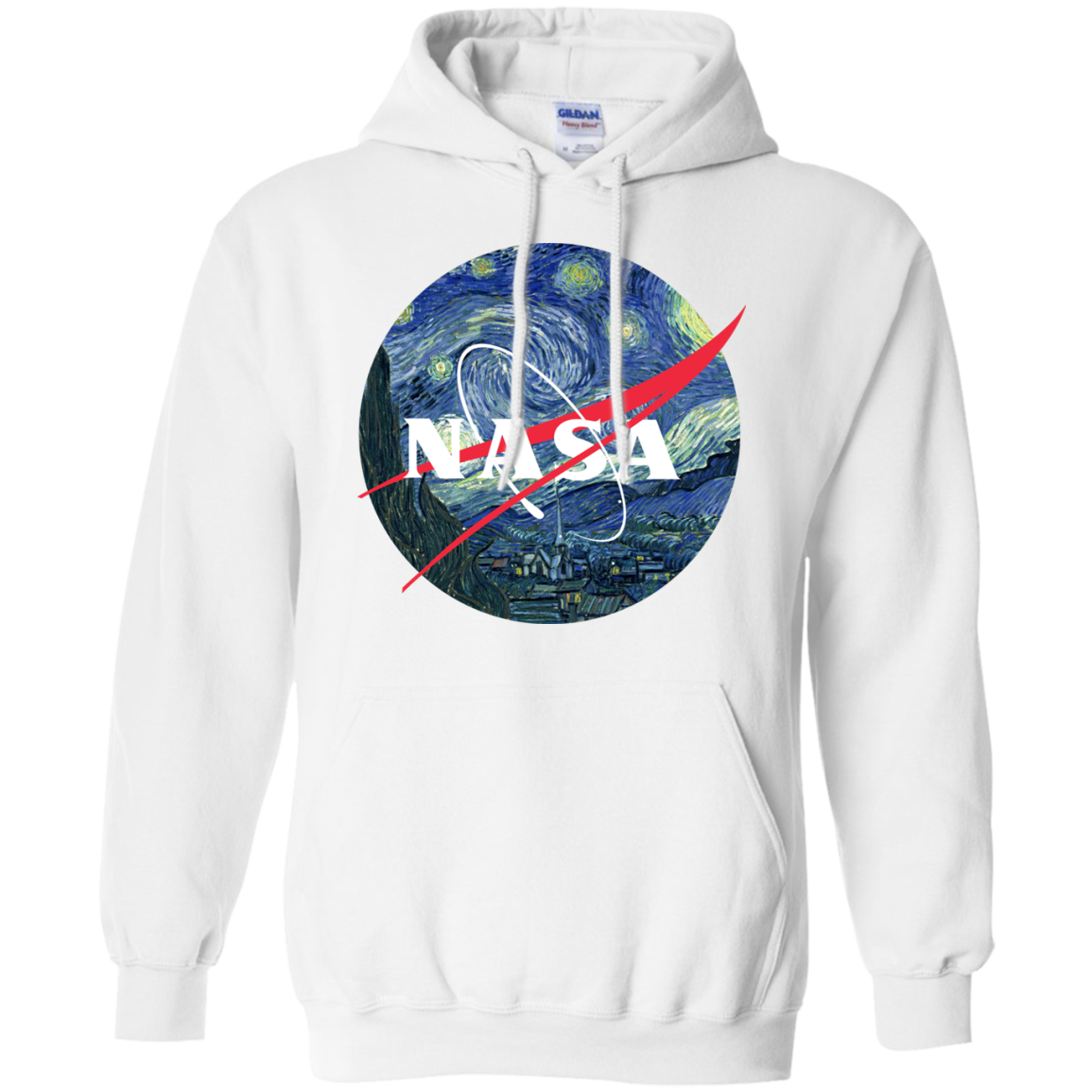 image 1047px Nasa Logo Starry Night by Van Gogh T Shirt, Hoodies, Tank