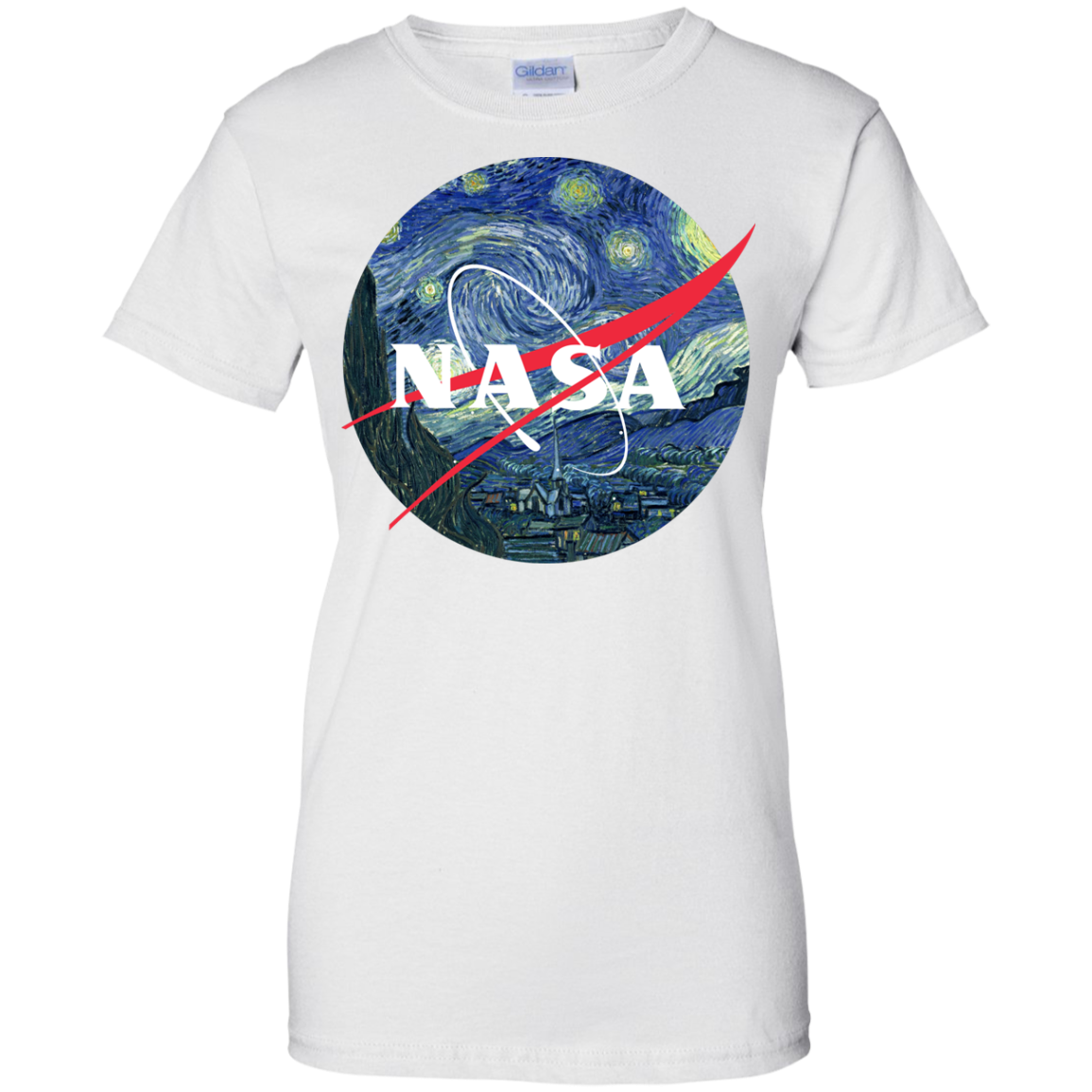 image 1050px Nasa Logo Starry Night by Van Gogh T Shirt, Hoodies, Tank