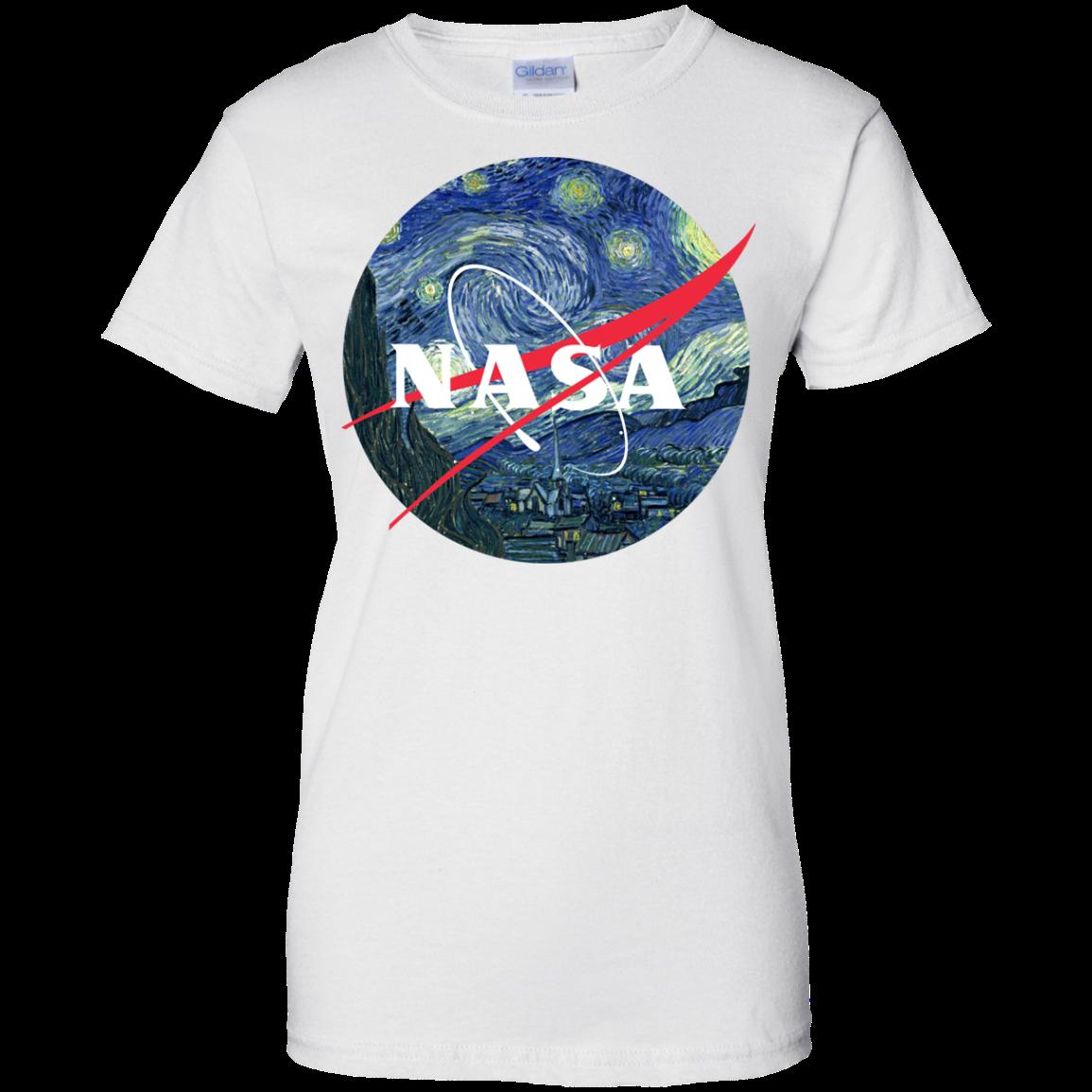image 1050px Nasa Logo Starry Night by Van Gogh T Shirt, Hoodies, Tank