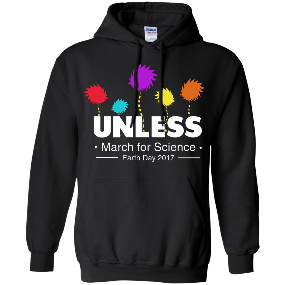 image 1058px Unless, March For Science Earth Day 2017 T Shirt
