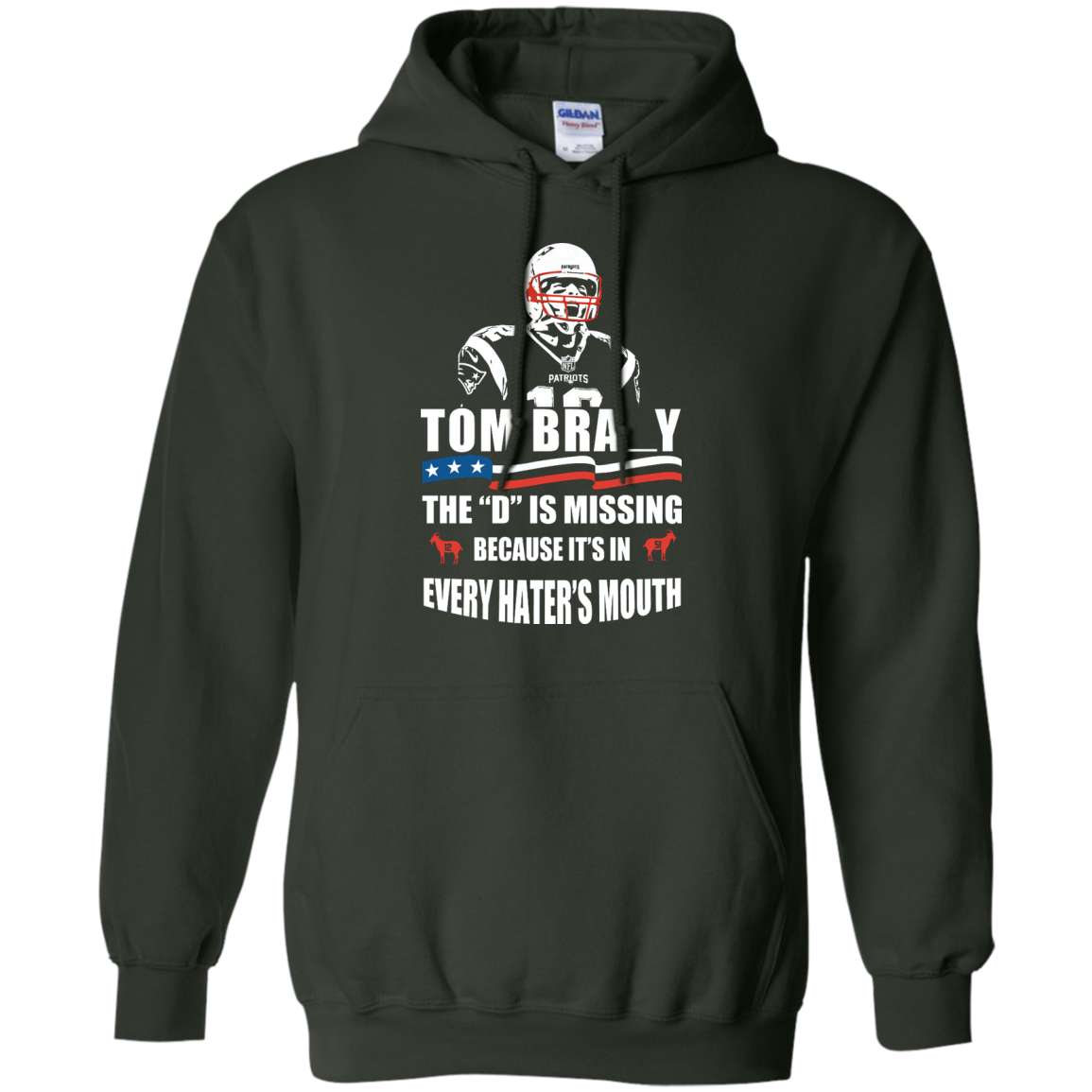image 15px Tom Brady The D Is Missing T Shirt, Hoodies, Tank