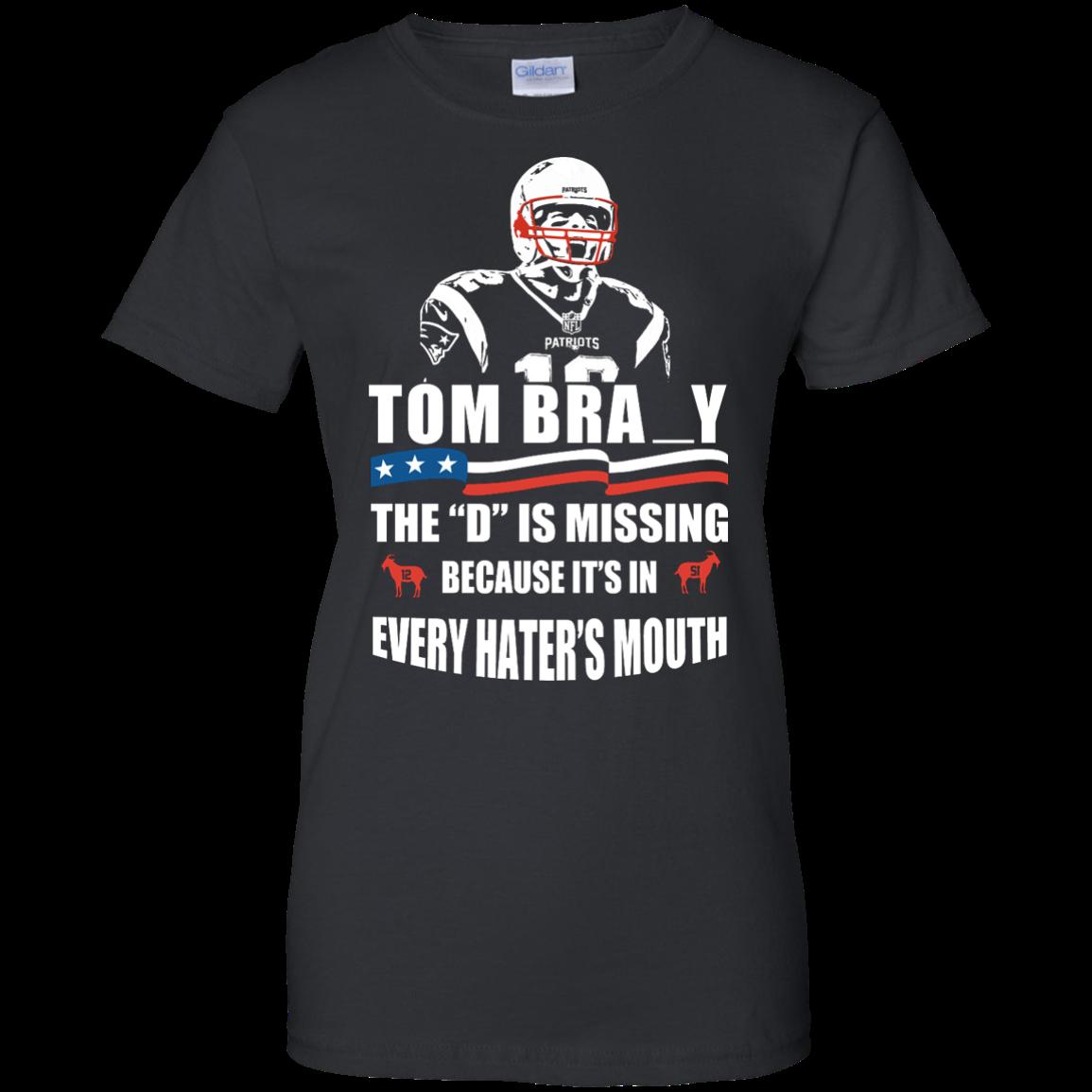 image 17px Tom Brady The D Is Missing T Shirt, Hoodies, Tank