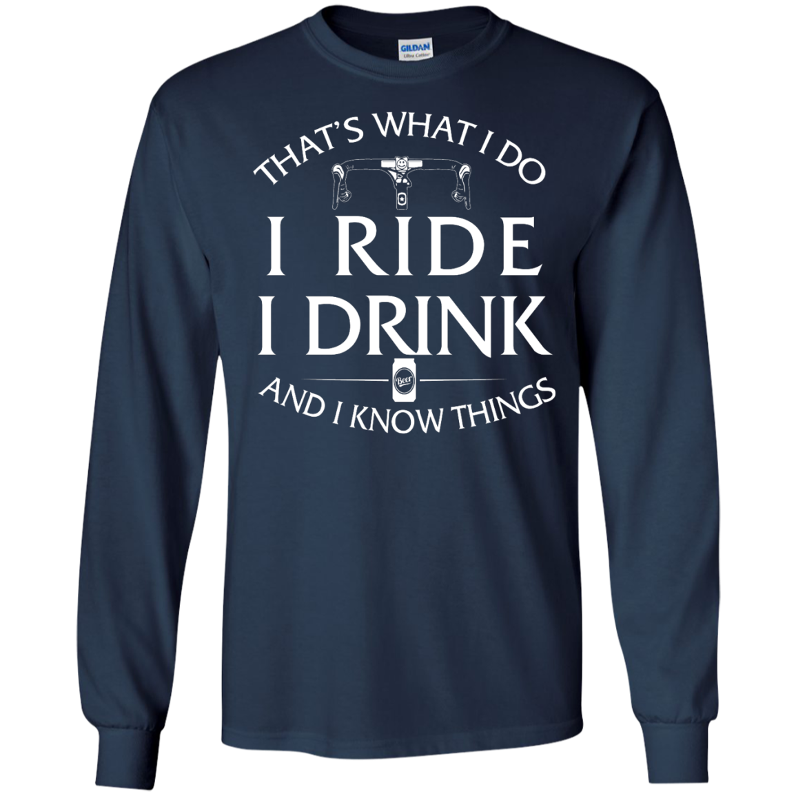 image 170px Cycling T Shirt: That's What I Do I Ride I Drink And I Know Things