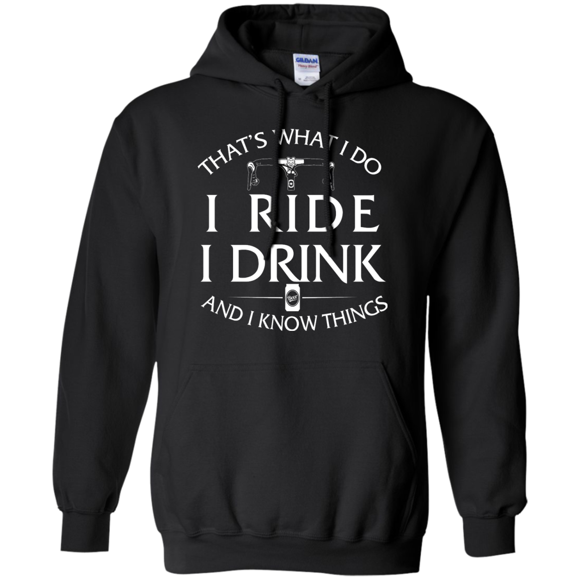 image 171px Cycling T Shirt: That's What I Do I Ride I Drink And I Know Things