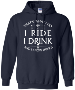 image 172 247x296px Cycling T Shirt: That's What I Do I Ride I Drink And I Know Things
