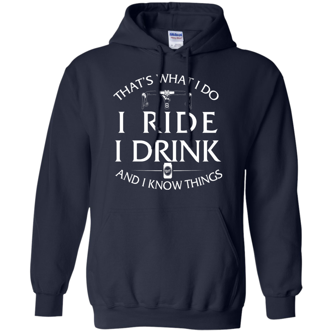 image 172px Cycling T Shirt: That's What I Do I Ride I Drink And I Know Things