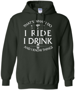 image 173 247x296px Cycling T Shirt: That's What I Do I Ride I Drink And I Know Things