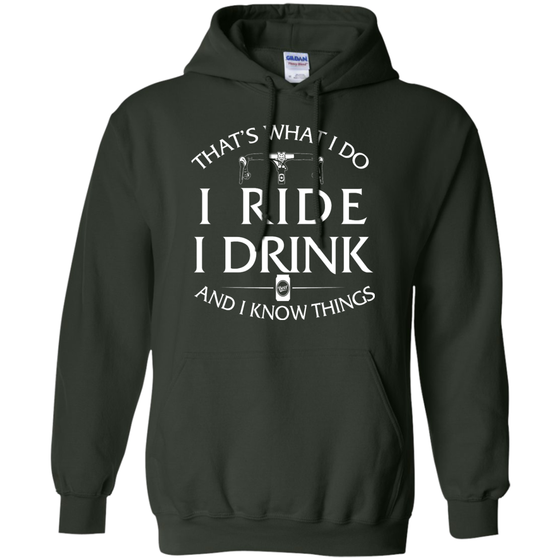 image 173px Cycling T Shirt: That's What I Do I Ride I Drink And I Know Things