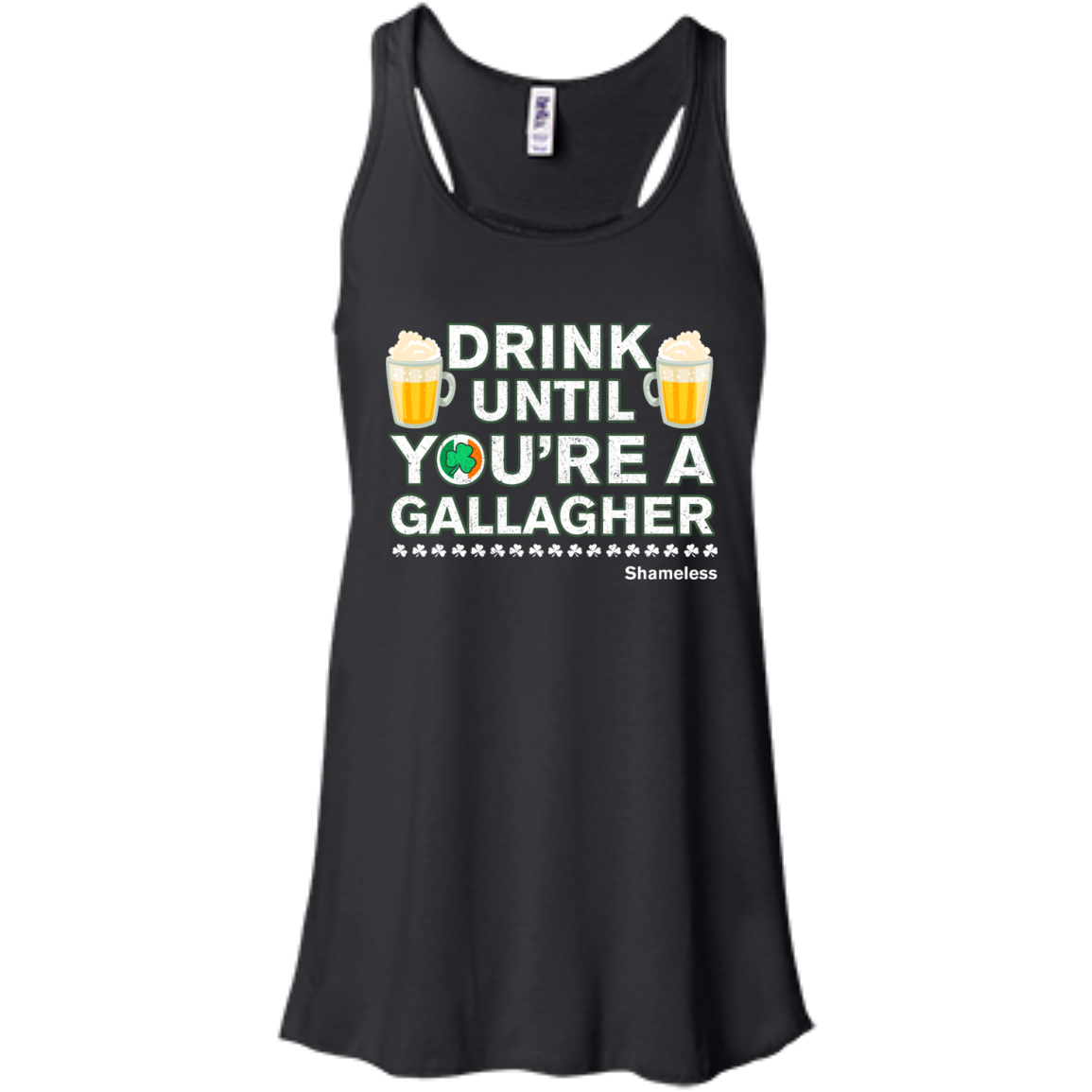 image 2px St Patrick's Day: Drink Until You Are A Gallagher T Shirt