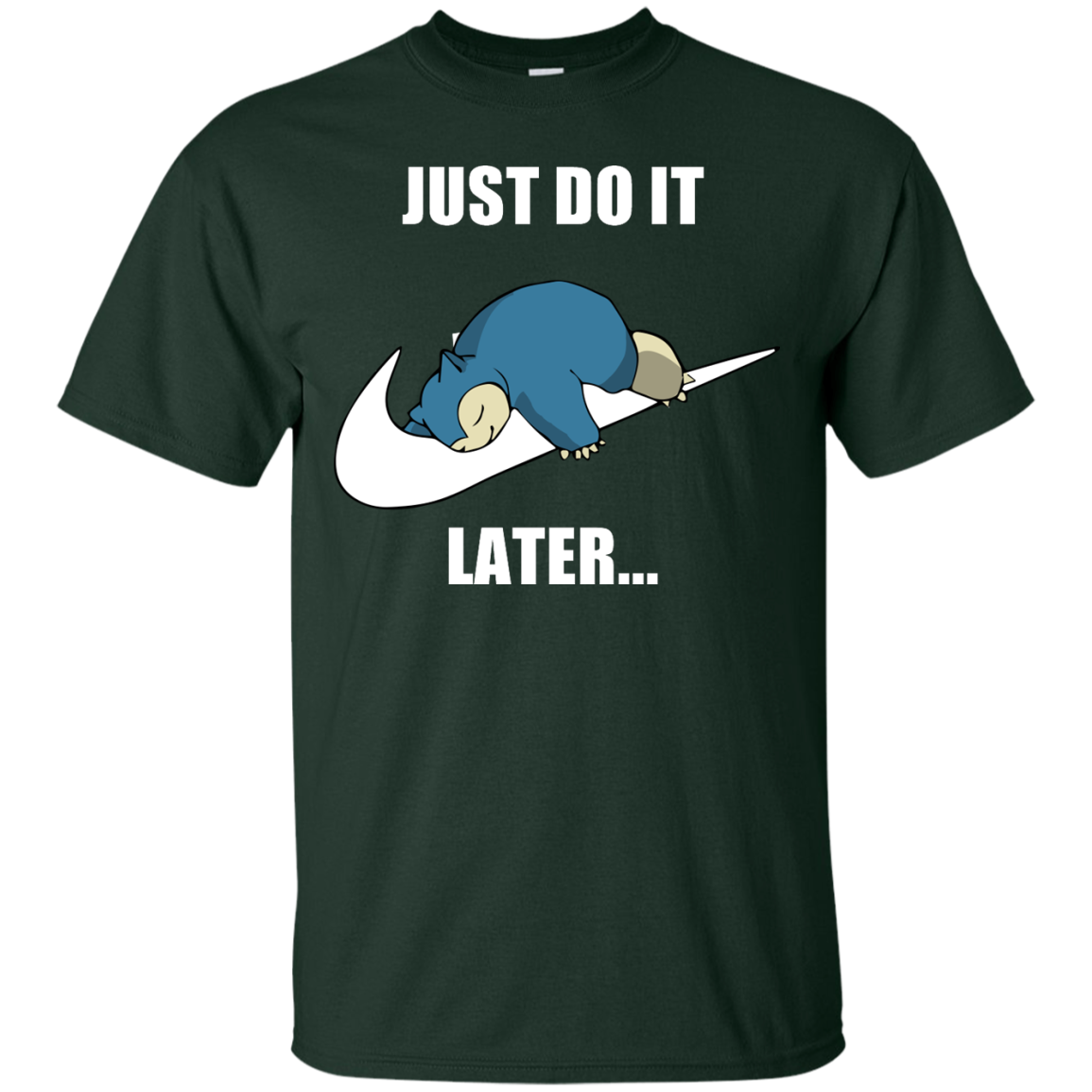 image 21px Just Do It Later Snorlax T Shirt, Hoodies, Tank Top