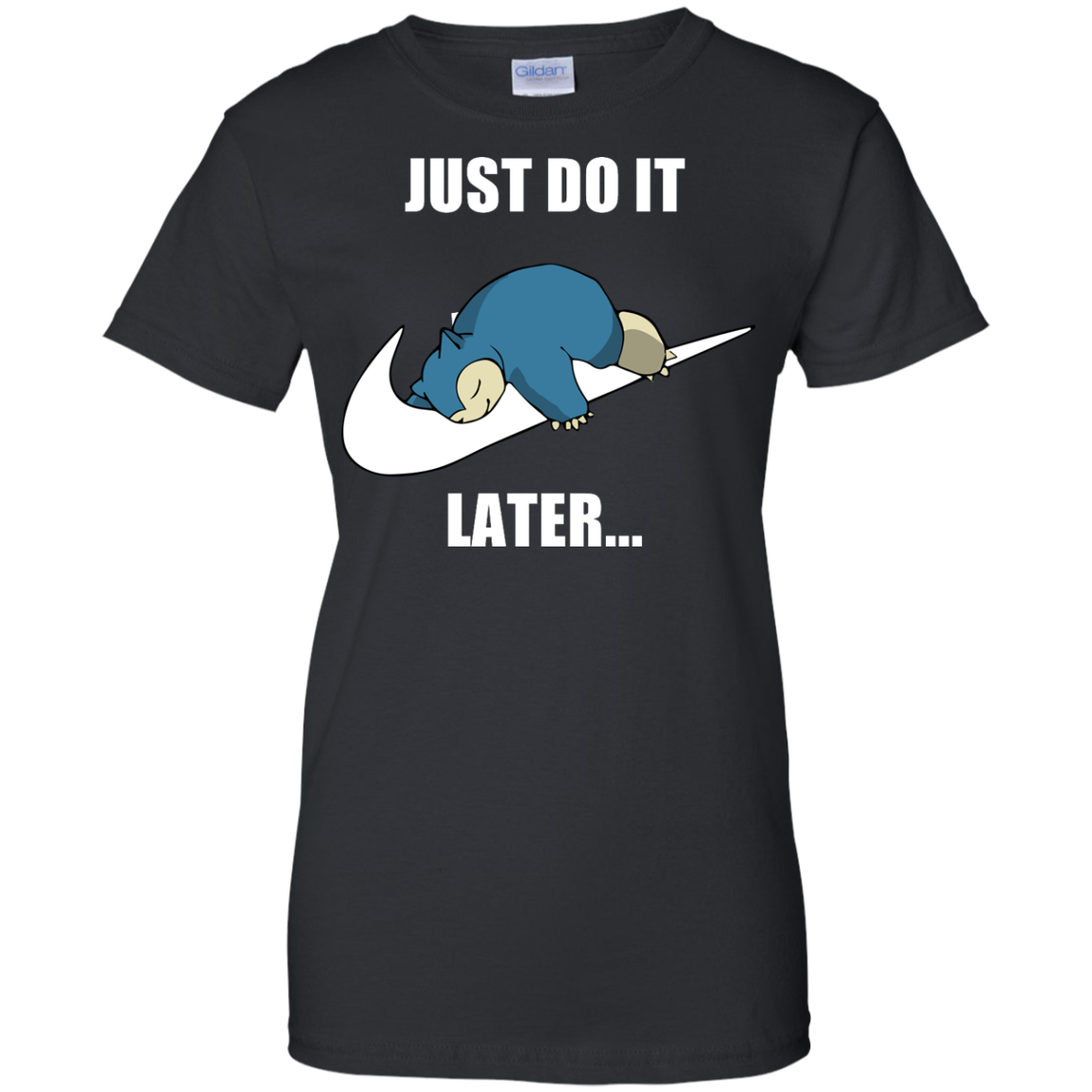 image 28px Just Do It Later Snorlax T Shirt, Hoodies, Tank Top