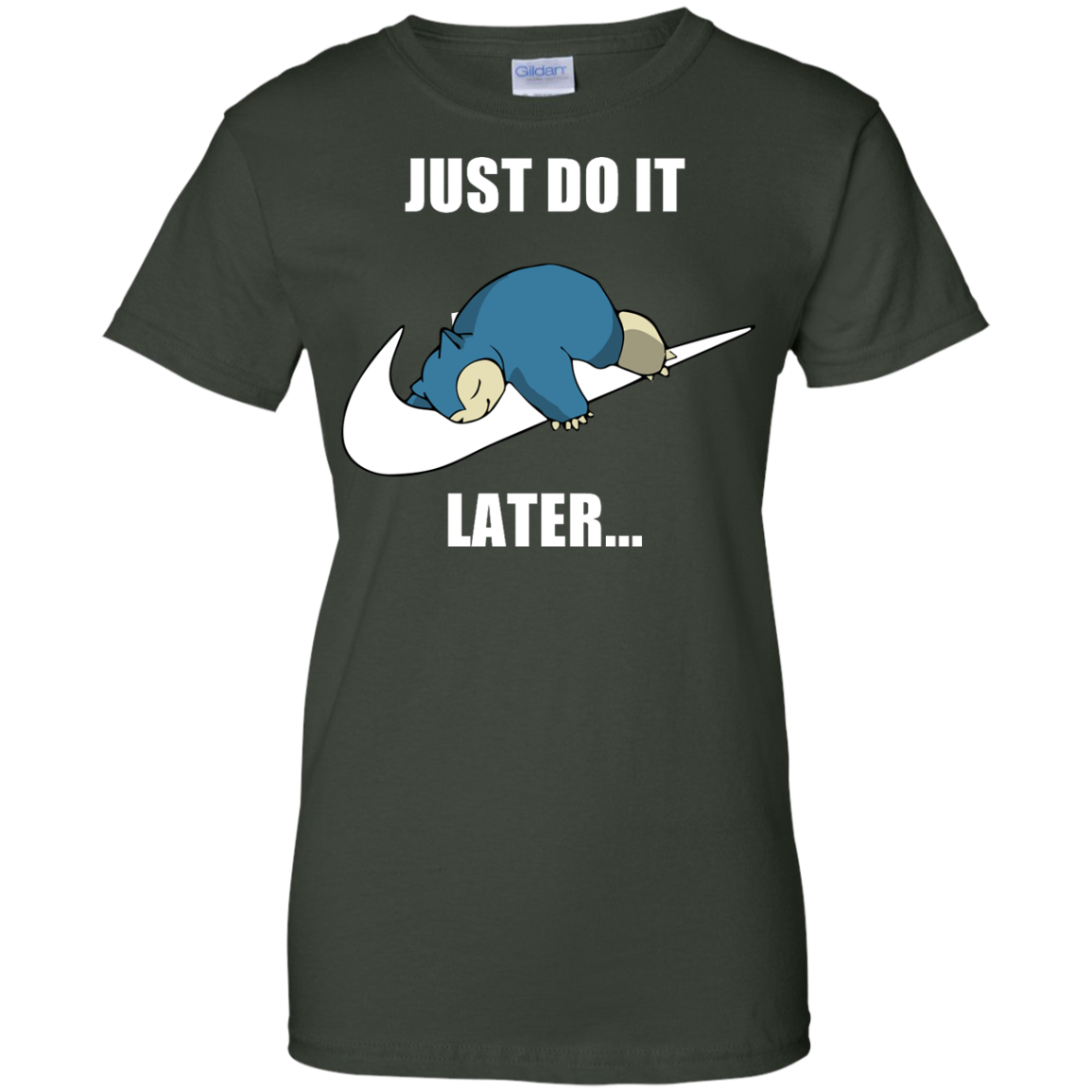 image 29px Just Do It Later Snorlax T Shirt, Hoodies, Tank Top