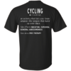 image 293 100x100px Cycling T shirt: Never underestimate an old man with a bicycle