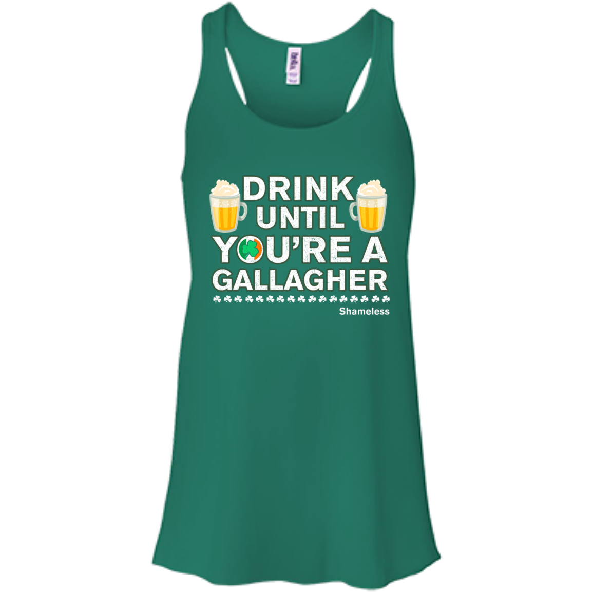 image 3px St Patrick's Day: Drink Until You Are A Gallagher T Shirt