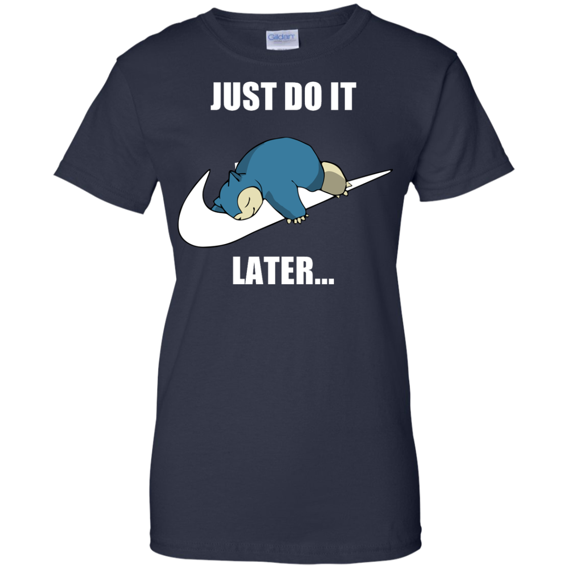image 30px Just Do It Later Snorlax T Shirt, Hoodies, Tank Top