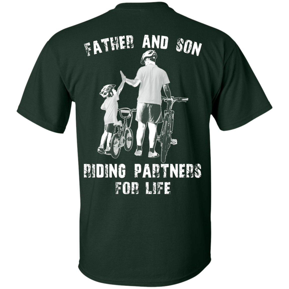 image 306px Father and Son Riding Partners For Life T shirt, Hoodies, Tank