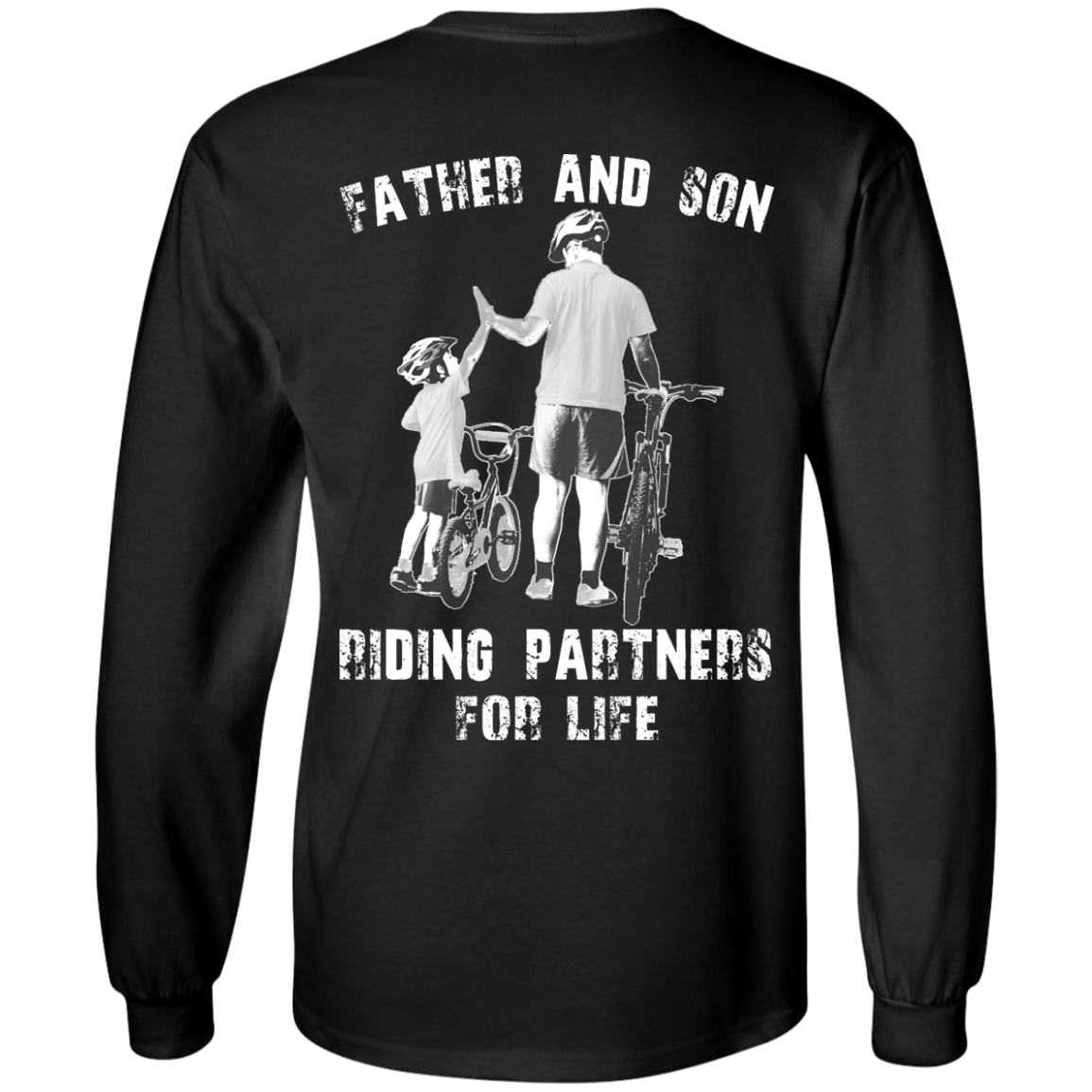 image 307px Father and Son Riding Partners For Life T shirt, Hoodies, Tank