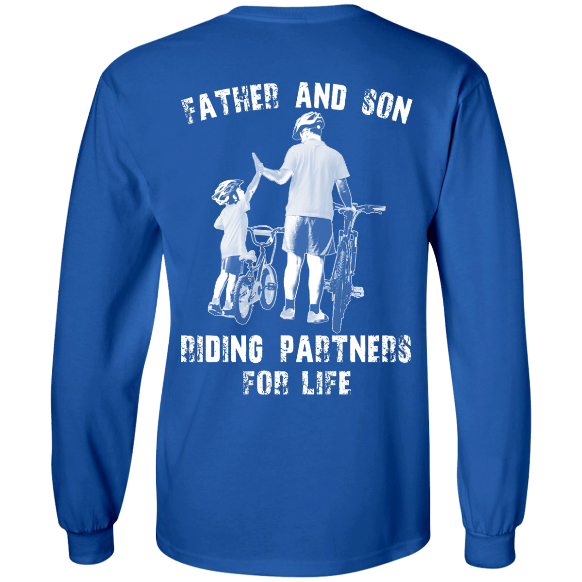 image 308px Father and Son Riding Partners For Life T shirt, Hoodies, Tank