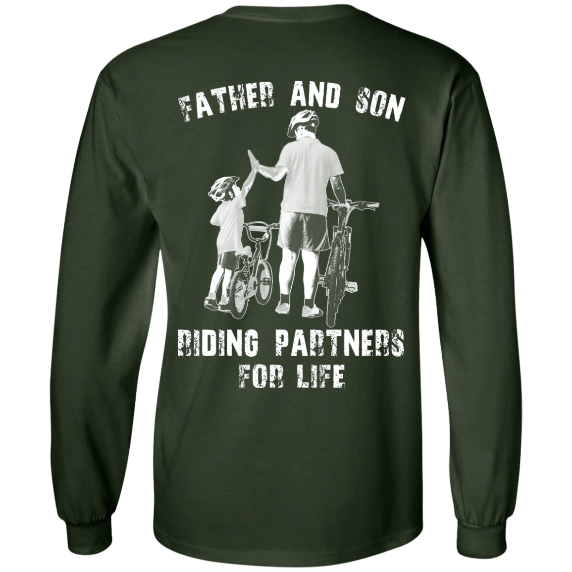 image 309px Father and Son Riding Partners For Life T shirt, Hoodies, Tank