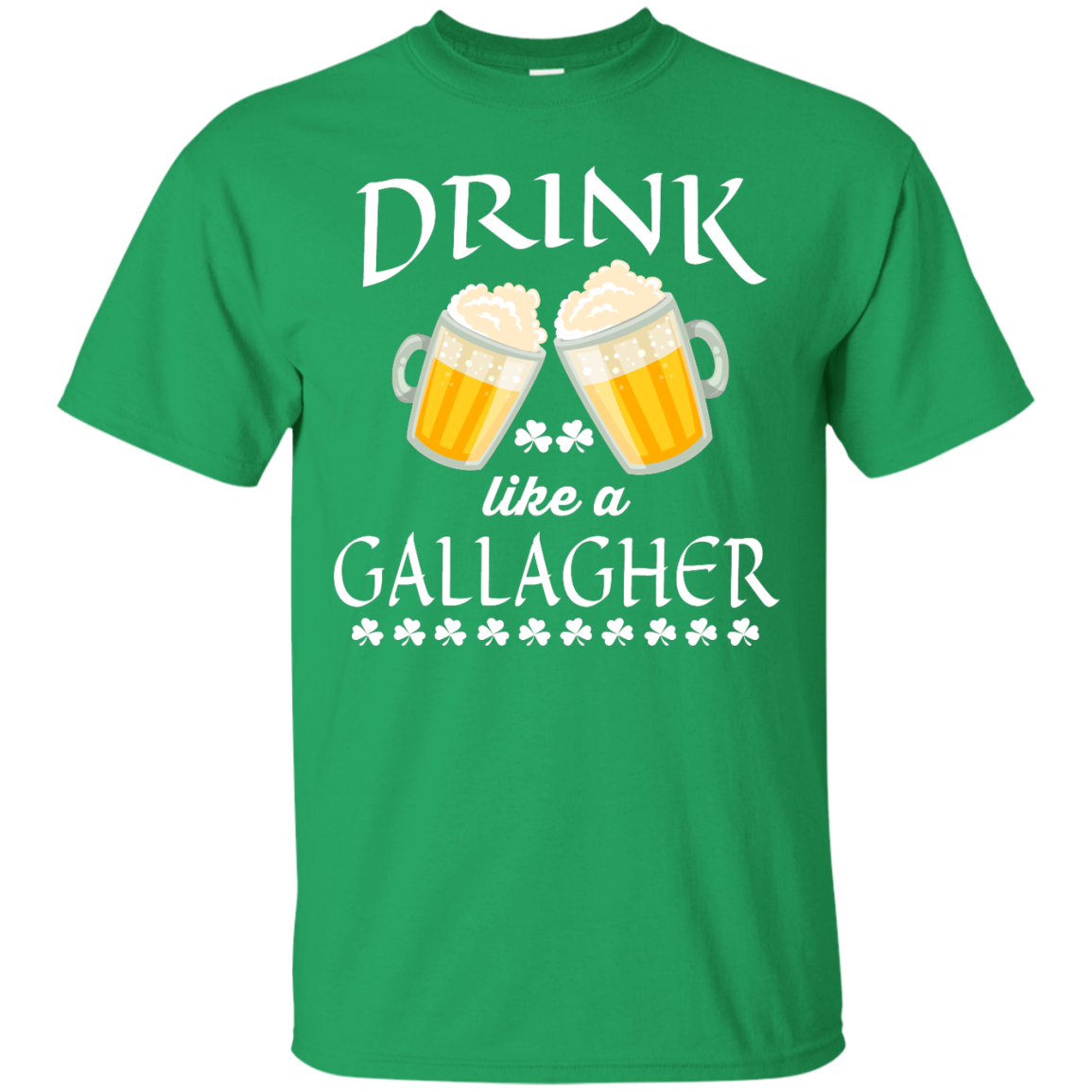 image 32px St Patrick's Day: Drink Like A Gallagher T Shirt