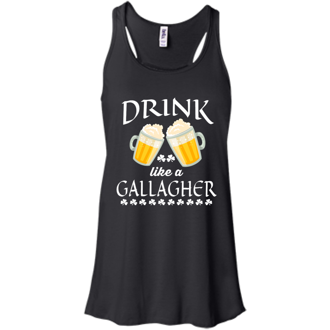 image 33px St Patrick's Day: Drink Like A Gallagher T Shirt