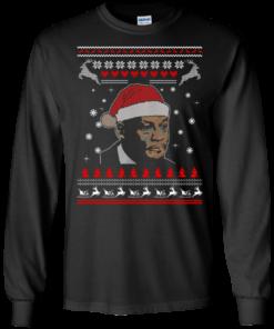 image 337 247x296px Crying Yordan Christmas Sweater, Long Sleeve