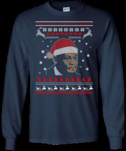 image 338 247x296px Crying Yordan Christmas Sweater, Long Sleeve