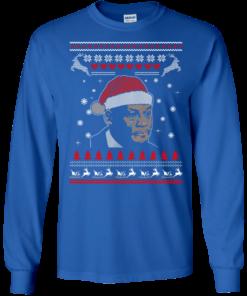 image 339 247x296px Crying Yordan Christmas Sweater, Long Sleeve