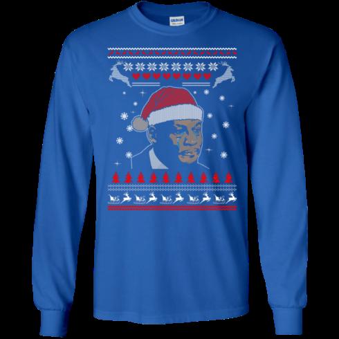 image 339 490x490px Crying Yordan Christmas Sweater, Long Sleeve