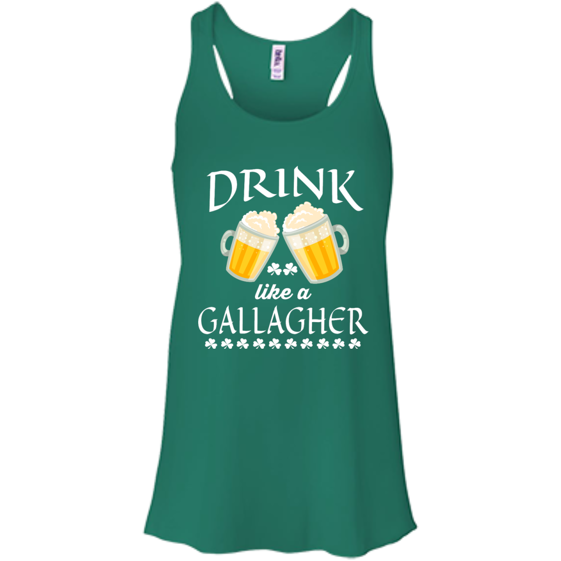 image 34px St Patrick's Day: Drink Like A Gallagher T Shirt