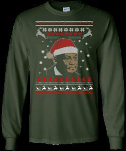 image 340 247x296px Crying Yordan Christmas Sweater, Long Sleeve