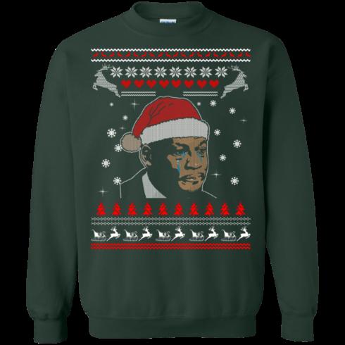 image 342 490x490px Crying Yordan Christmas Sweater, Long Sleeve