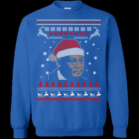 image 343 490x490px Crying Yordan Christmas Sweater, Long Sleeve