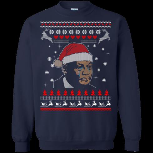 image 344 490x490px Crying Yordan Christmas Sweater, Long Sleeve