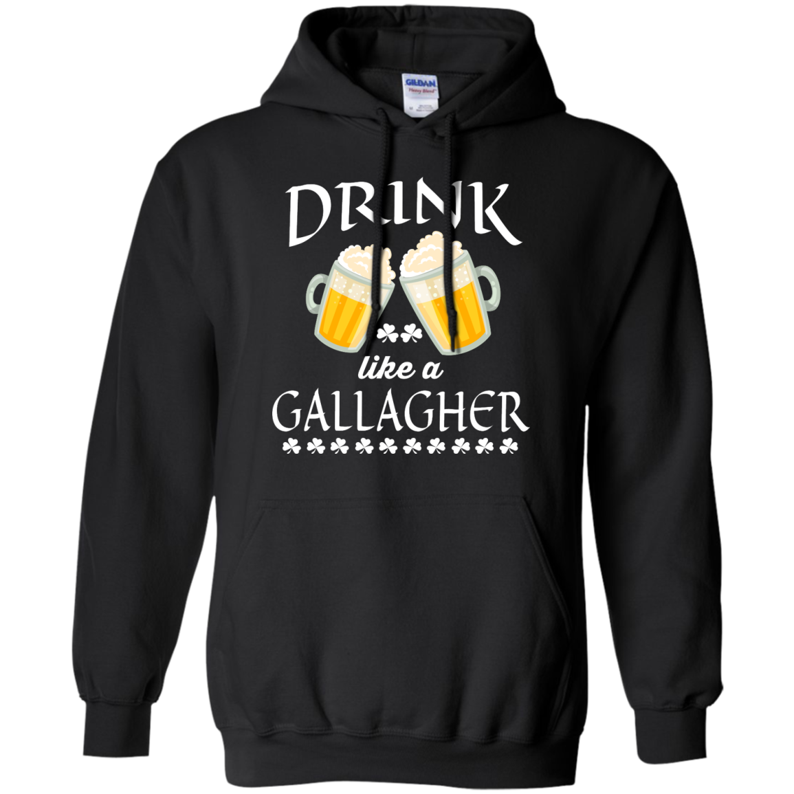 image 35px St Patrick's Day: Drink Like A Gallagher T Shirt