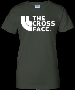 image 355 247x296px The Cross Face T Shirt, Hoodies, Tank Top