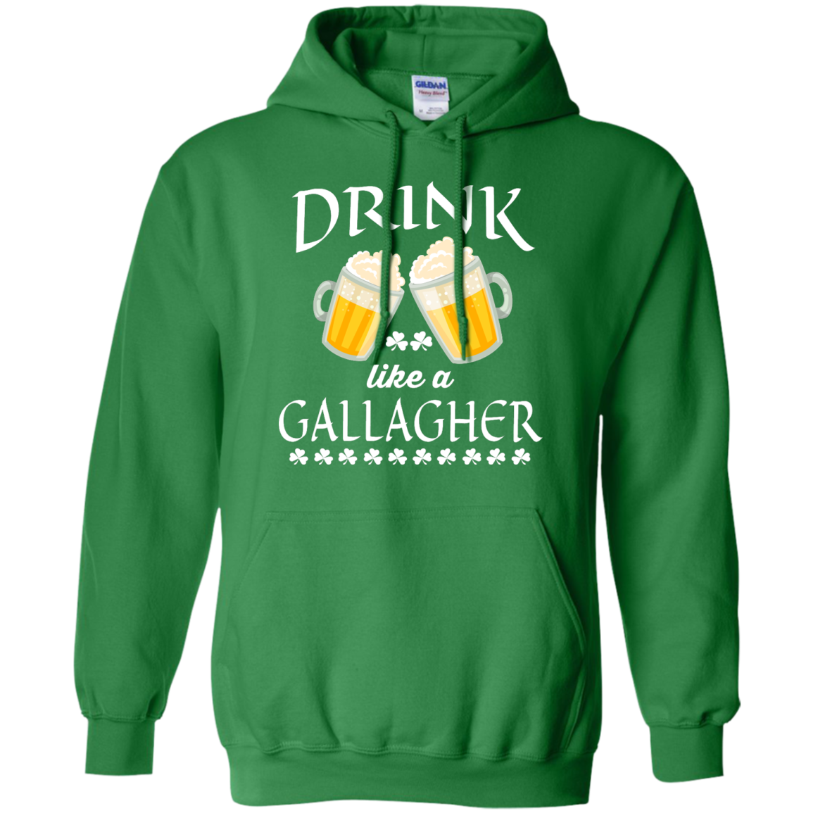 image 36px St Patrick's Day: Drink Like A Gallagher T Shirt