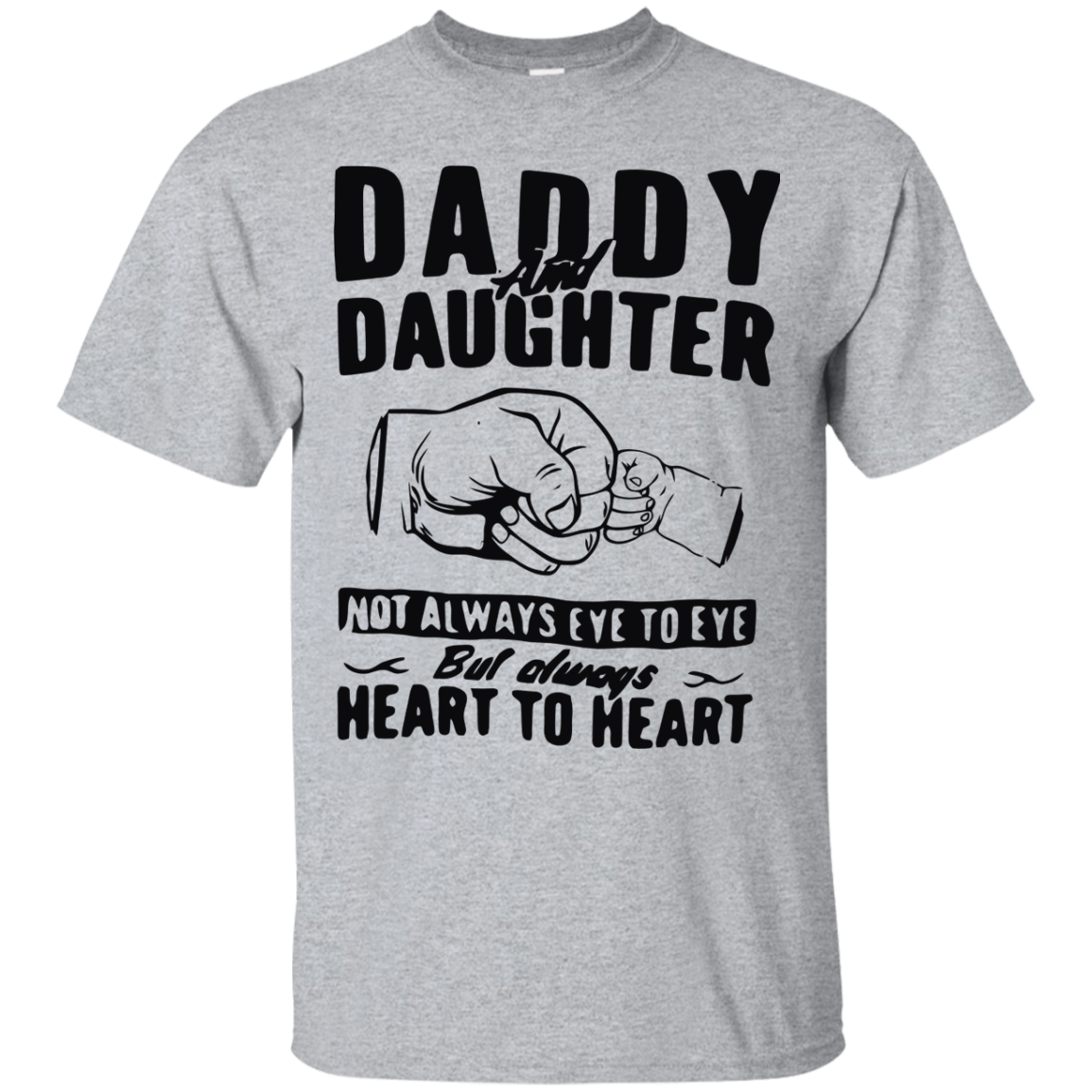e11d7106 image 367px Daddy and Daughter Not Always Eye To Eye T Shirt, Hoodies