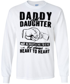 image 371 247x296px Daddy and Daughter Not Always Eye To Eye T Shirt, Hoodies