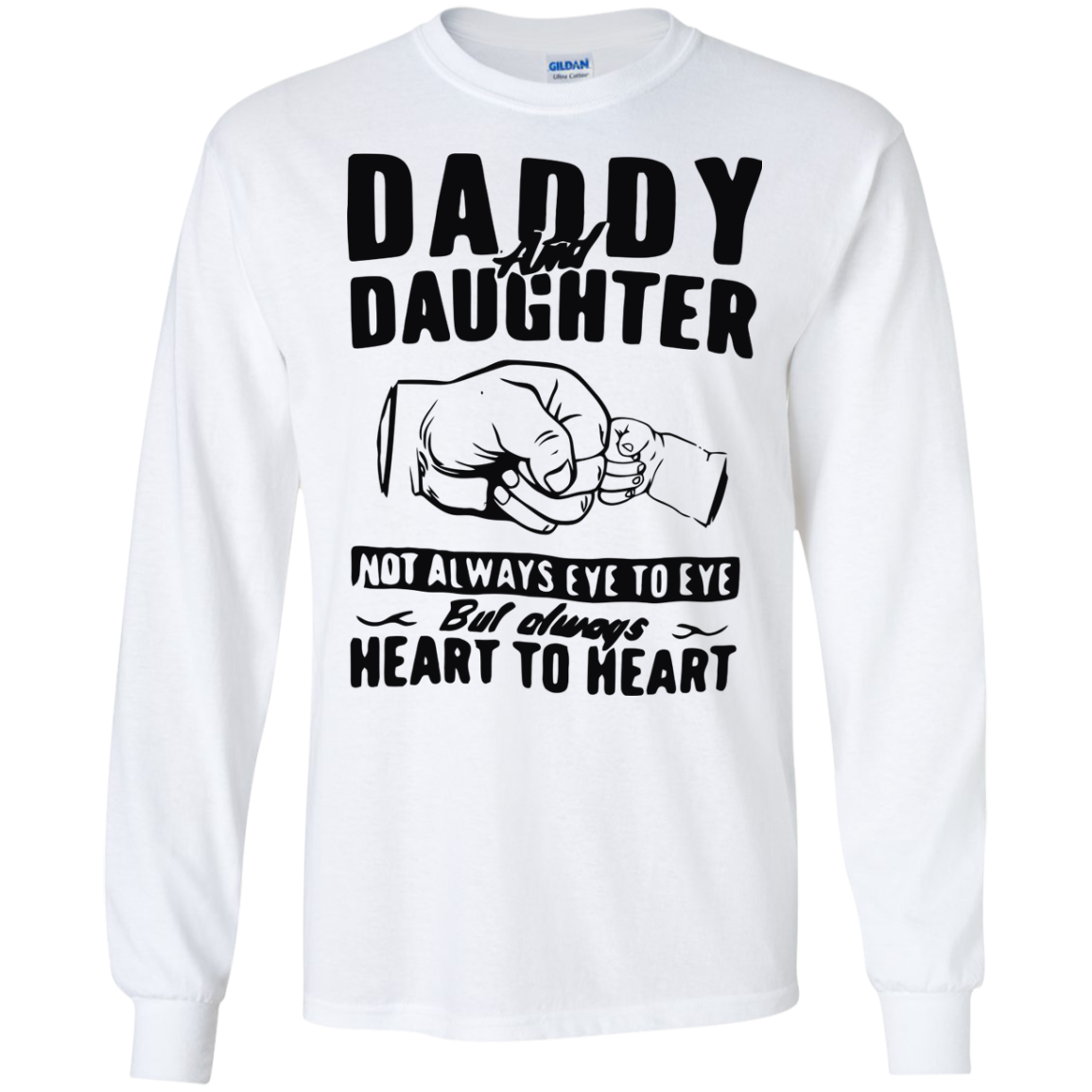 image 371px Daddy and Daughter Not Always Eye To Eye T Shirt, Hoodies