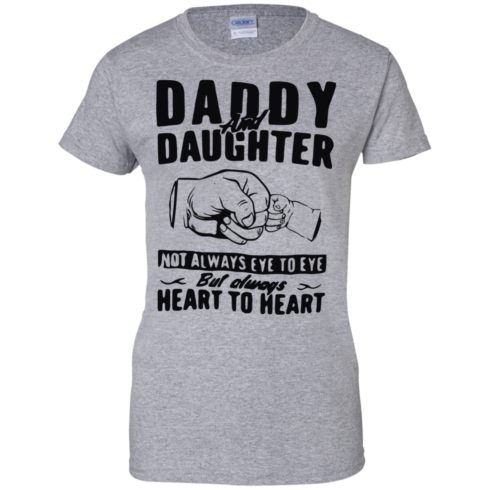 image 376 490x490px Daddy and Daughter Not Always Eye To Eye T Shirt, Hoodies