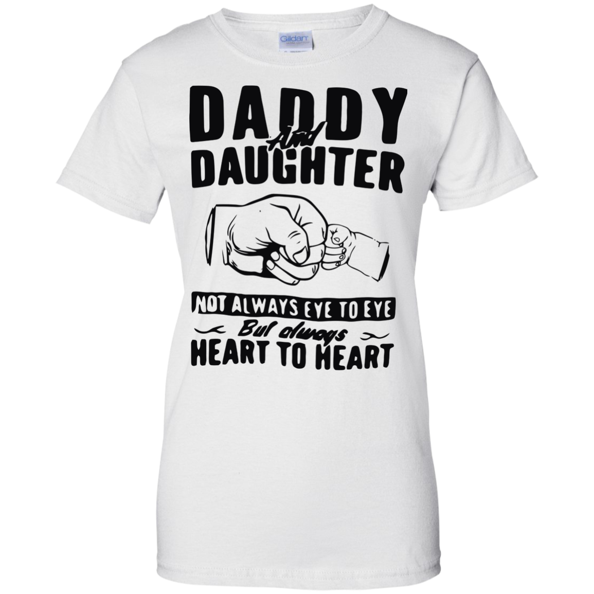 image 377px Daddy and Daughter Not Always Eye To Eye T Shirt, Hoodies