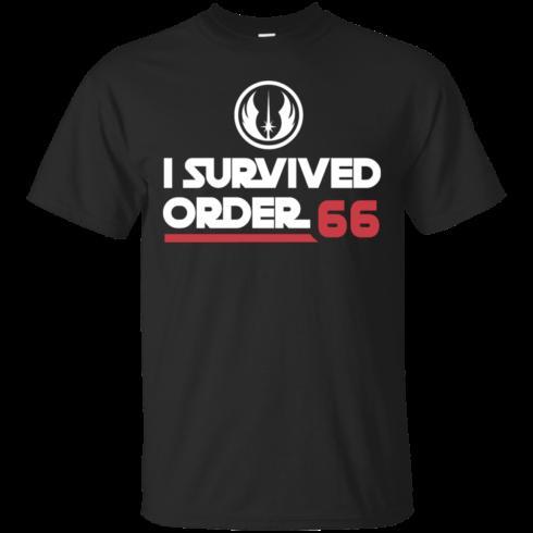image 416 490x490px Star Wars T Shirt: I Survived Order 66 Shirt