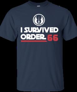 image 417 247x296px Star Wars T Shirt: I Survived Order 66 Shirt