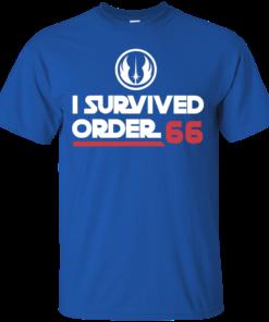 image 418 247x296px Star Wars T Shirt: I Survived Order 66 Shirt