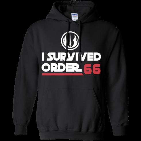 image 421 490x490px Star Wars T Shirt: I Survived Order 66 Shirt